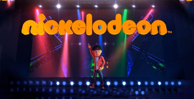 Rudra Ident for Nickelodeon